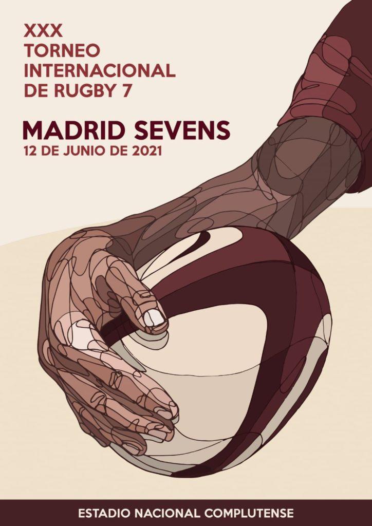Cartel del XXX Madrid Sevens